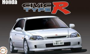 1:24 Scale Honda Civic EK9 Type R Late Version Model Kit #625