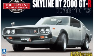 1:24 Scale Nissan Skyline HT2000 GT-R (KPGC110) Model Kit #1071