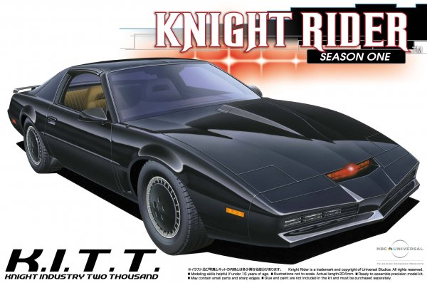 1:24 Scale KNIGHT RIDER 2000 K.I.T.T Season I Model Kit #432