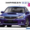 1:24 Scale Aoshima Subaru Impreza GRB WRX STI '10 Model Kit #29