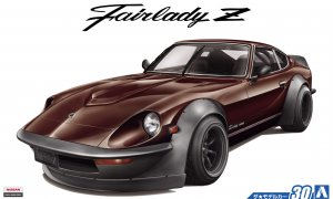 1:24 Scale Nissan S30 Fairlady Aero Custom Brown