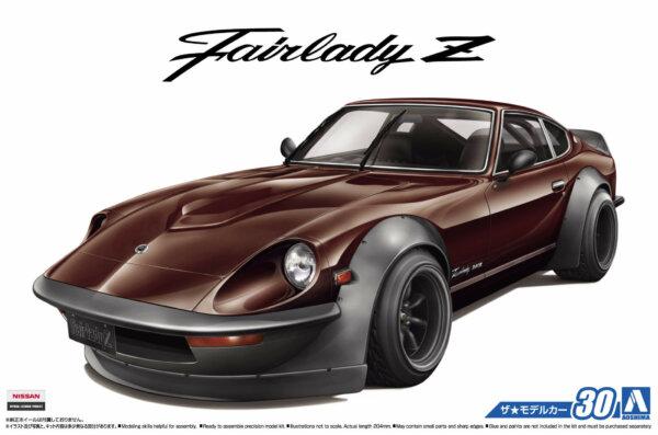 1:24 Scale Aoshima Nissan 260Z Fairlady S30 Aero Custom #30p