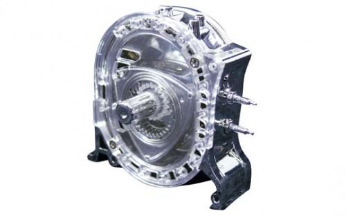 1:5 Scale Mazda Rotary Engine Wankel Chrome Version Model #525