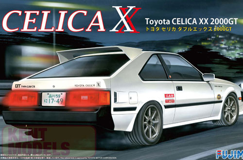 1:24 Scale Toyota Celica XX 2000GT Model Kit #656p