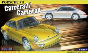 1:24 Scale Fujimi Porsche 911 Carrera 2 / Carrera 4 Model Kit #779p