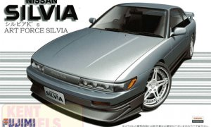 1:24 Scale Fujimi Nissan Silvia K's Art Force Model Kit #696p