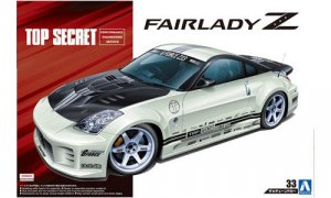 1:24 Scale Aoshima Nissan Fairlady Z 350Z Top Secret Model Kit #157p