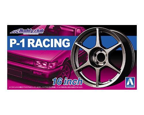 1:24 Scale Buddy Club P-1 Racing Wheels & Tyres Set #215