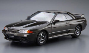 1:24 Scale Aoshima Nissan Skyline R32 GTR BNR32 Model Kit #12p