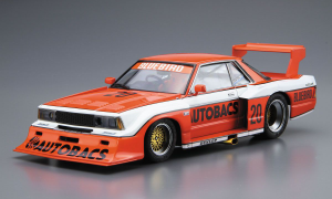1:24 Scale Aoshima Nissan Bluebird Autobacs Turbo Silhouette Model Kit #24p