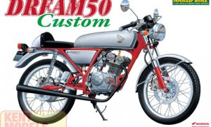 1:12 Scale Honda Dream 50 Custom Model Kit #387