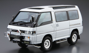 1:24 Scale Mitsubishi Delica Star Wagon P35W 1991 Model Kit #27