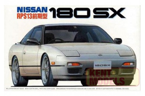 "1:24 Scale Fujimi Nissan RPS13 180SX ""First Model"" Model Kit #600p"