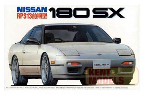 "1:24 Scale Fujimi Nissan RPS13 180SX ""First Model"" Model Kit #600p"