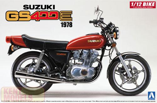 1:12 Scale Suzuki GS400E Model Kit #379p