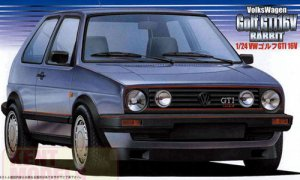 1:24 Scale Volkswagen Golf GTI 16V Model Kit #782