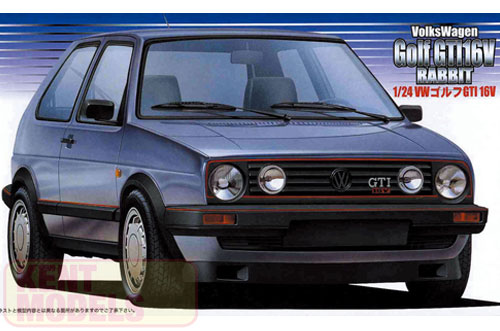1:24 Scale Fujimi Volkswagen Golf GTI 16V Model Kit #782