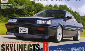1:24 Scale Fujimi Nissan R31 Skyline GTS-R '86 Model Kit #550p