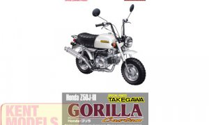 1:12 Scale Honda Gorilla Custom Takegawa Model Kit #1043