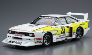 1:24 Scale Aoshima Nissan Silvia Super Silhouette '82 Impul Model Kit #23p