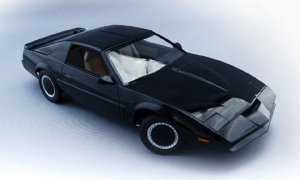 1:24 Scale Aoshima Knight Rider 2000 K.I.T.T Season IV Model Kit #433