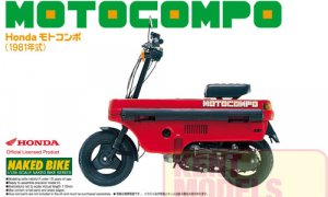 1:12 Scale Honda Motocompo 81 Model Kit #383p