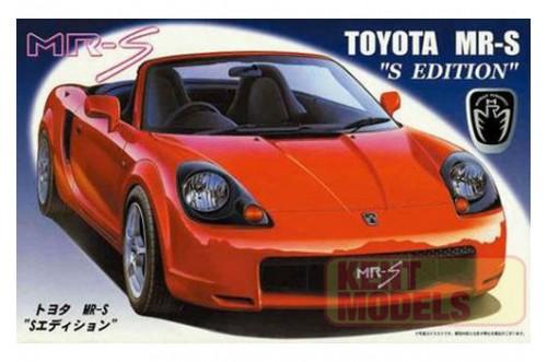 1:24 Scale Fujimi Toyota MR-S S-Edition Model Kit