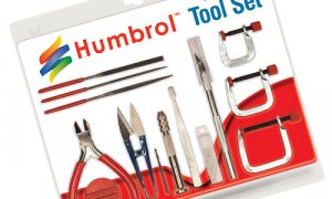 Humbrol Tool Set - Medium Assortment Set #1123