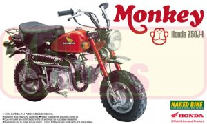 1:12 Scale Honda Monkey Bike Model Kit #