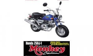 1:12 Scale Honda Monkey Custom Takegawa Model Kit #373p