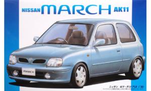 1:24 Scale Fujimi Nissan Micra March AK11 Model Kit #612p