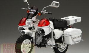 1:24 Scale Honda Monkey Police Bike Model Kit #1051