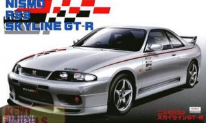 1:24 Scale Nissan Skyline R33 GTR Nismo Model Kit #694p