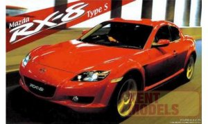 1:24 Scale Mazda RX8 Model Kit #642p