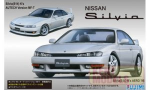 1:24 Scale Nissan S14 Silvia K's Aero / Autech Version Model Kit #621