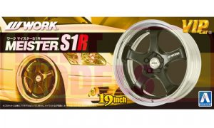 1:24 Scale Work Meister S1R Wheels & Tyres Set