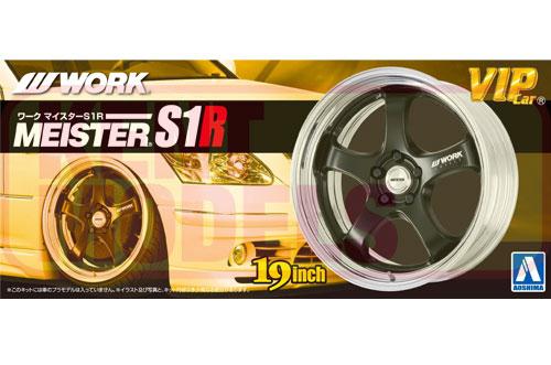 1:24 Scale Fujimi Work Meister S1R Wheels & Tyres Set #209