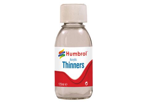 Humbrol Acrylic Thinners 125mlm #1177