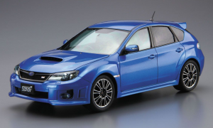 1:24 Scale Subaru Impreza GRB WRX STI '10 Model Kit #29