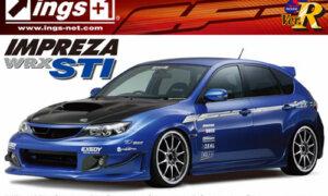 1:24 Scale Subaru Impreza GRB WRX STI INGS Ver. Model Kit #159