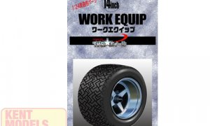 1:24 Scale Work Equip Wheels & Tyre Set #1056