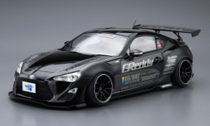 1:24 Scale Aoshima Greddy & Rocket Bunny Speedhunters Toyota GT86 Model Kit #126p