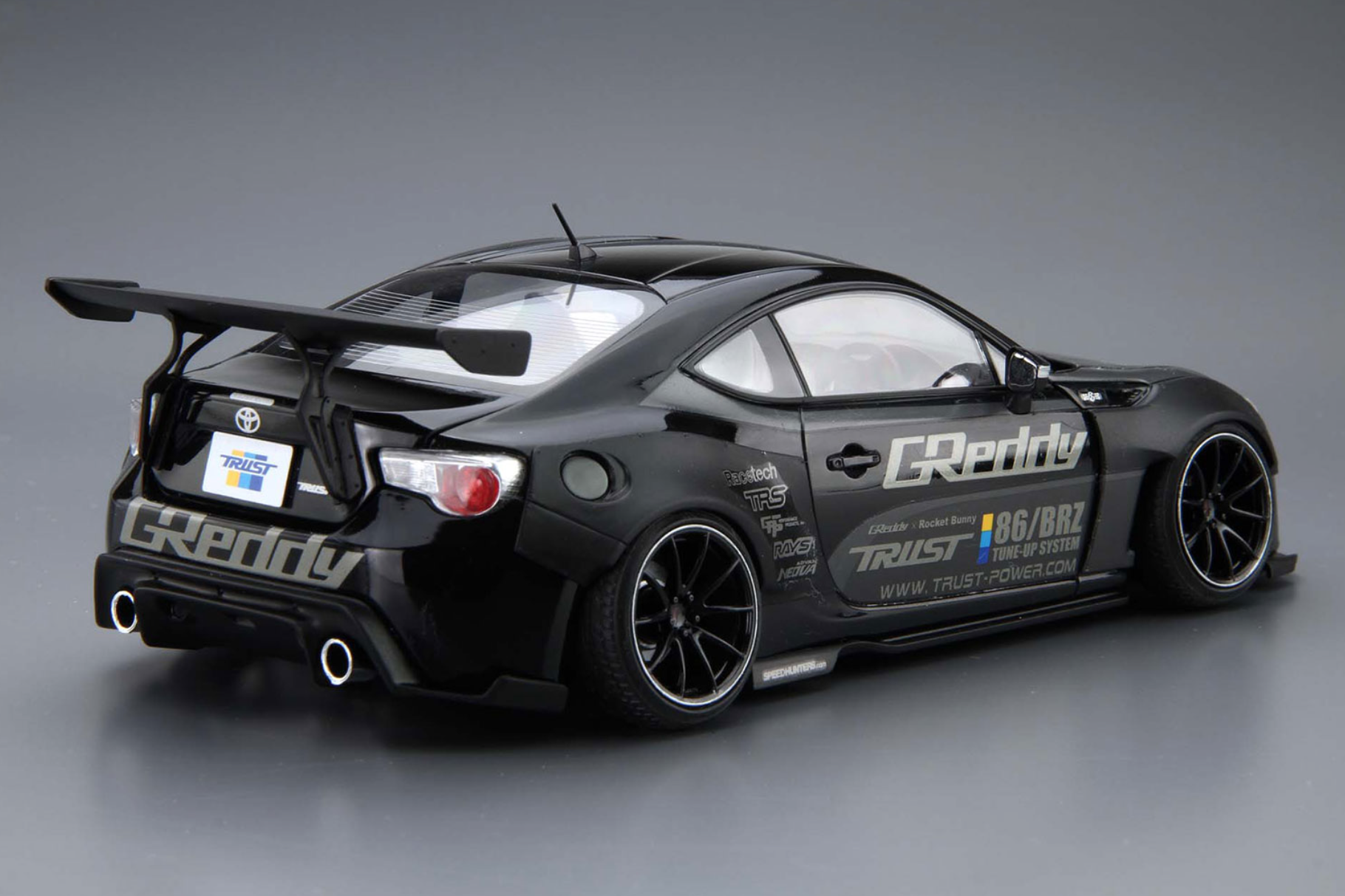 1 24 scale greddy rocket bunny volk racing toyota gt86. Black Bedroom Furniture Sets. Home Design Ideas