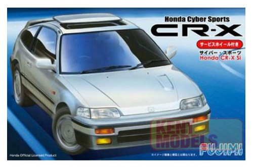 1:24 Scale Fujimi Honda CRX Si Model Kit #677p