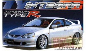 1:24 Scale Fujimi Honda Integra DC5 Type R Model Kit #627p