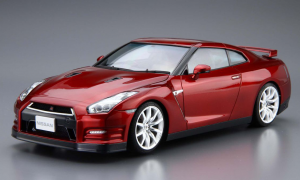 1:24 Scale Nissan GT-R R35 Pure Edition 14 With Engine Model Kit #03
