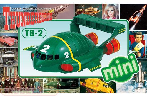 Thunderbirds Mini Thunderbird 2 Model Kit #462