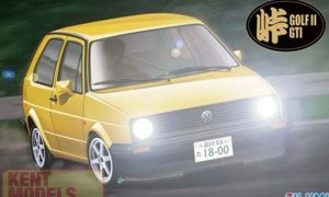 1:24 Scale Fujimi Volkswagen Golf Mk2 GTI Model Kit #762p