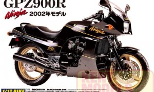 1:12 Scale Kawasaki GPZ900R Ninja 02 Model Kit #355p