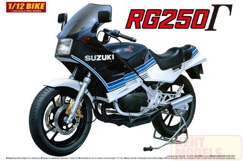 1:12 Scale Suzuki RG250 Model Kit #408p